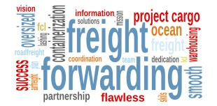 freight forwarding label
